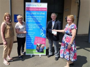 Careline_Rotary Club Donation